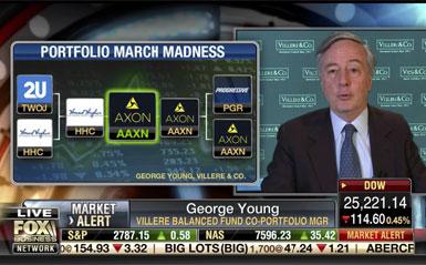 March Madness investment portfolio bracket