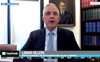 Lamar Villere talks VISA ahead of earnings