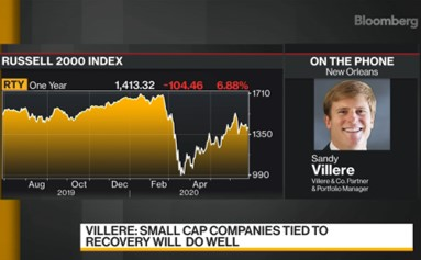 Villere: Buy the dips, and there will be more to come