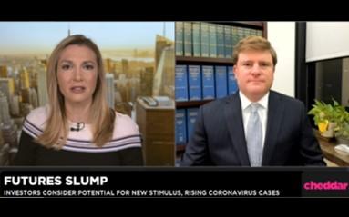 Investors monitor rising coronavirus cases, stimulus stalemate