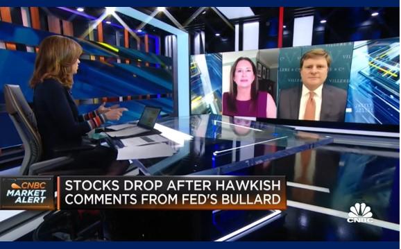 A more hawkish federal reserve puts pressure on stocks